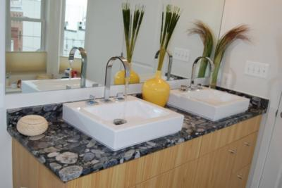 granite countertops-pebble